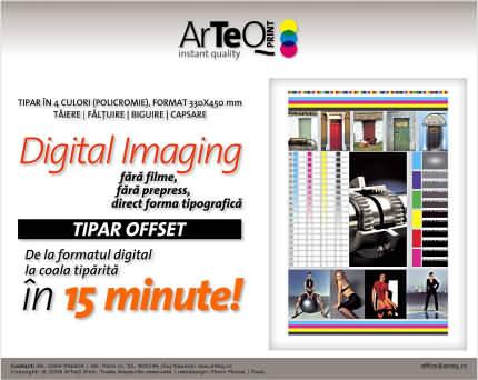 site ArTeQ Print din Cluj