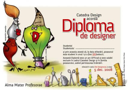 Diploma de designer