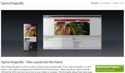 Opera Dragonfly alpha 3
