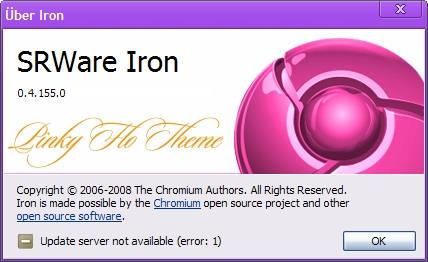 Pinky Flo skin (theme) pentru Chrome sau Iron
