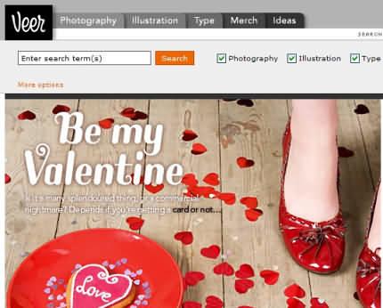 Veer oferă resurse designerilor (fonturi, fotografie din stock-uri)