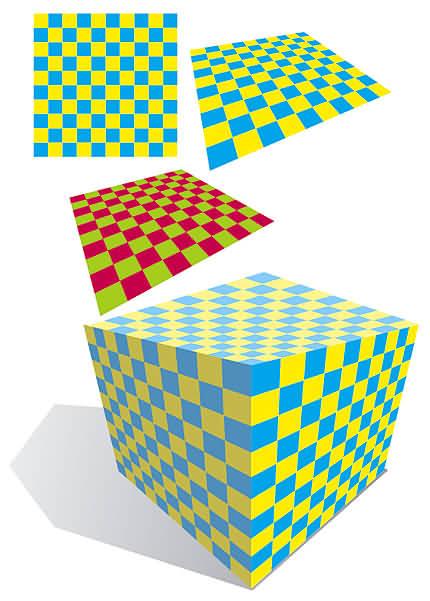 Cub (desen vectorial de Florinf)