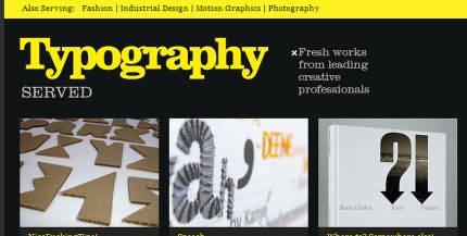 Inspiraţii tipografice
