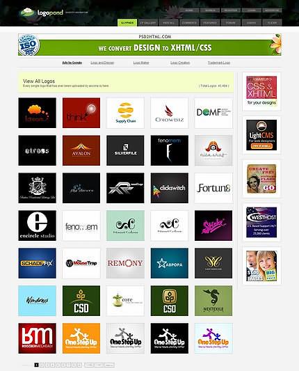 Logopond - galerie/inspiraţie de logo-uri