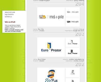 Mis i Pile - portfolio Luka Pensa (301 logo-uri)