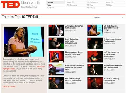 Cele 10 prelegeri de top