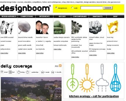 DesignBoom - un site pentru designeri