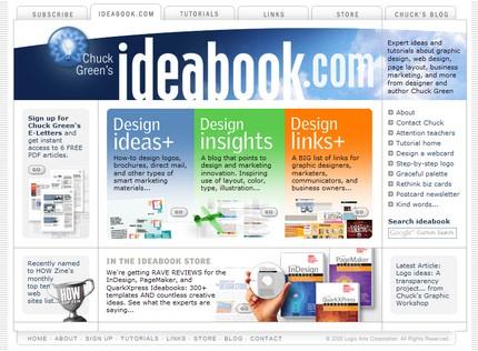Site-ul lui Chuck Green: ideabook.com