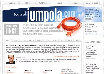 Jumpola - link-uri din domeniu, pe categorii.