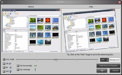 Rotirea imaginii în Faststone Image Viewer