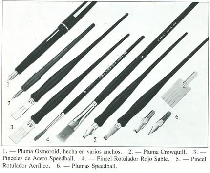 tipuri de unelte, peniţe şi tocuri