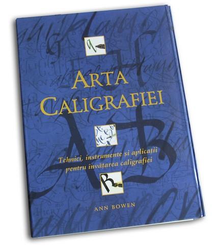 Arta Caligrafiei - set cu 2 cărţi şi unelte.