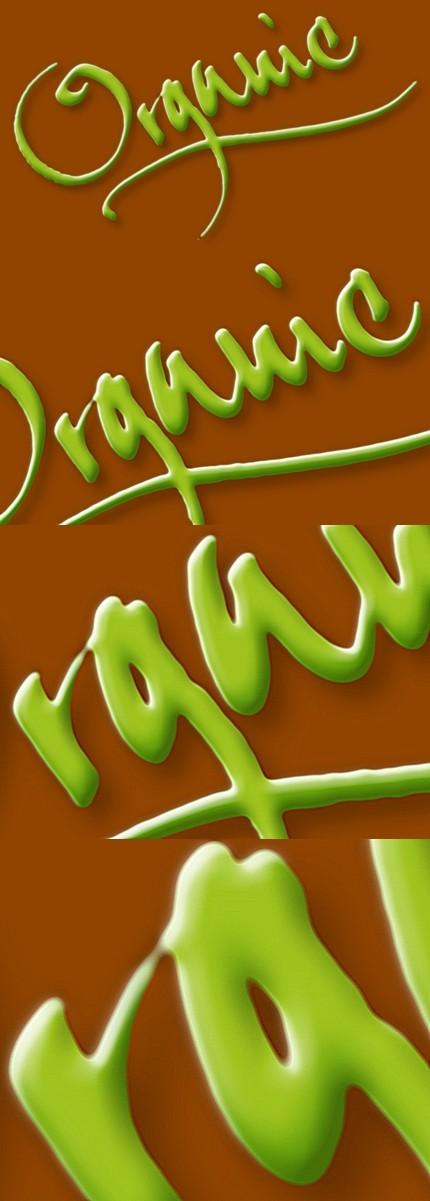 Organic (caligrafie - Florin Florea)