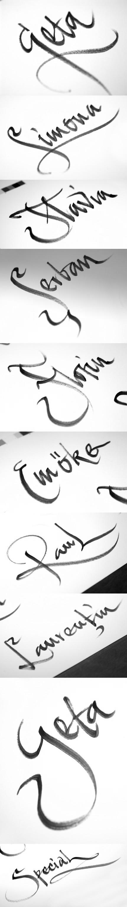 Exerciţii de caligrafie - Florin Florea