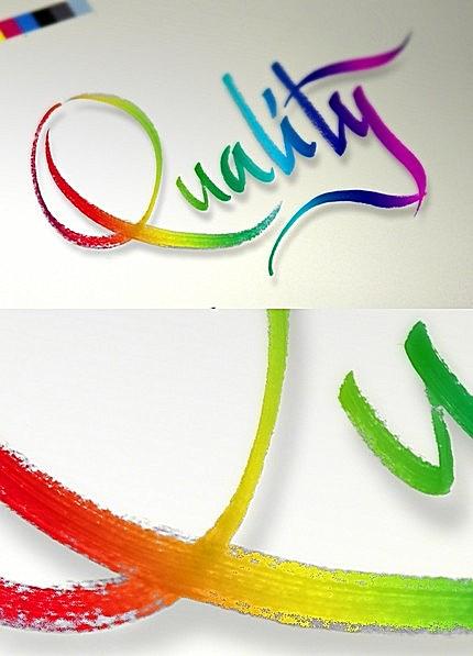 Quality (caligrafie - Florin Florea)