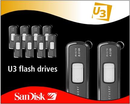 Stick-uri USB Sandisk U3
