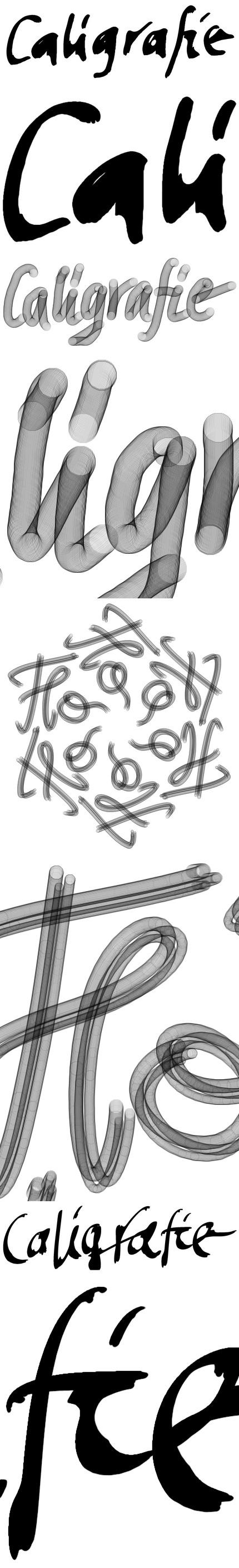 Câteva teste caligrafice şi detalii