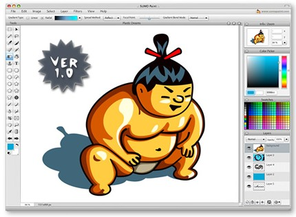 Sumo Paint - un Photoshop online