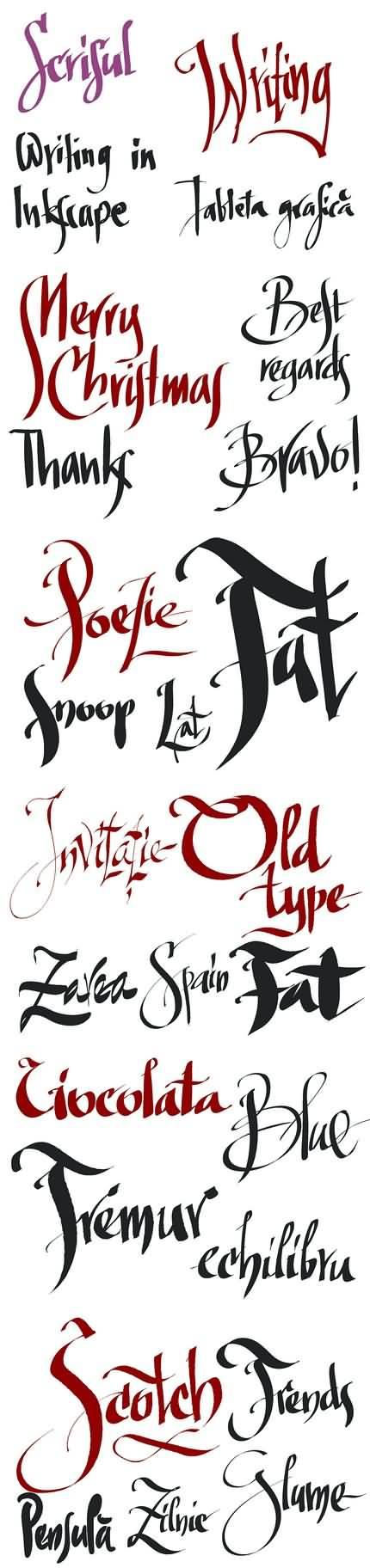 08. Caligrafie în Inkscape. Florin Florea.