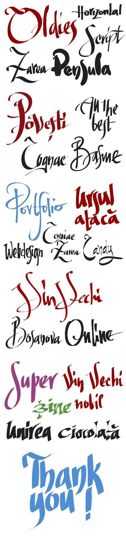 09. Caligrafie în Inkscape. Florin Florea.