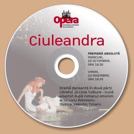 Eticheta DVD-ului Ciuleandra.