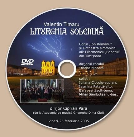 Varianta la DVD-ul Liturghia solemna de Valentin Timaru. Prima varianta s-a finalizat. Aceasta a fost facuta ulterior.