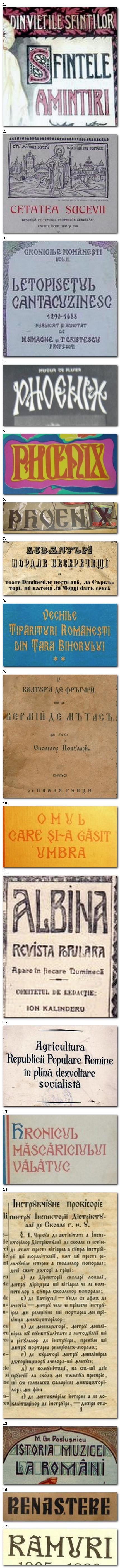"""Exemple de """"Arhaic"""" Românesc găsite pe net."""