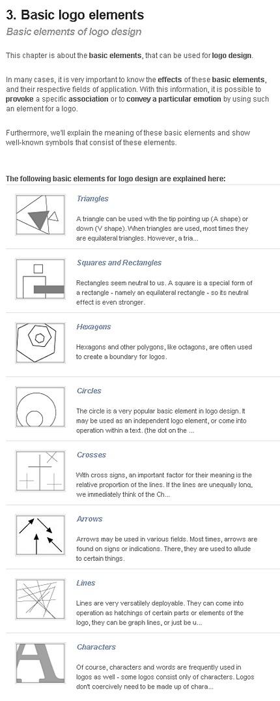 Elemente de bază ale logo-ului (DesignGuide.at)