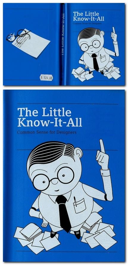 Cartea cu lucruri importante designerului.