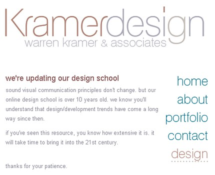 Despre Design - Warren Kramer