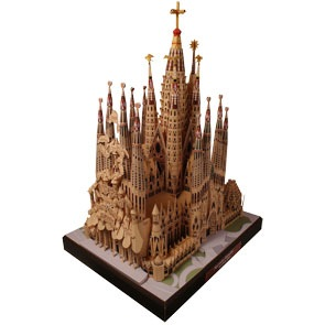 Sagrada Familia de pe site-ul Canon.