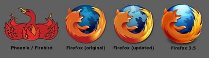 Istoric Firefox logo de pe Wikipedia