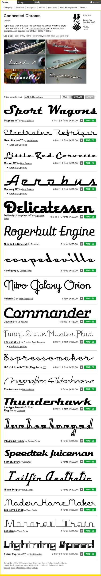 Fonturi pe FontShop.