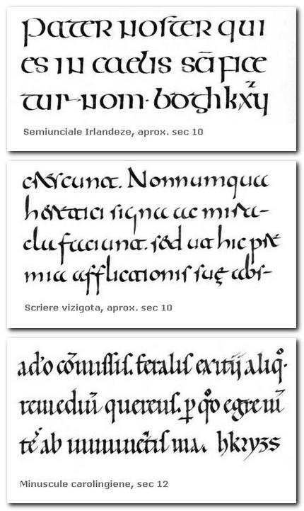 Câteva exemple de scrieri din mulţimea de pagini cu exemple. Sursa: Textism.com