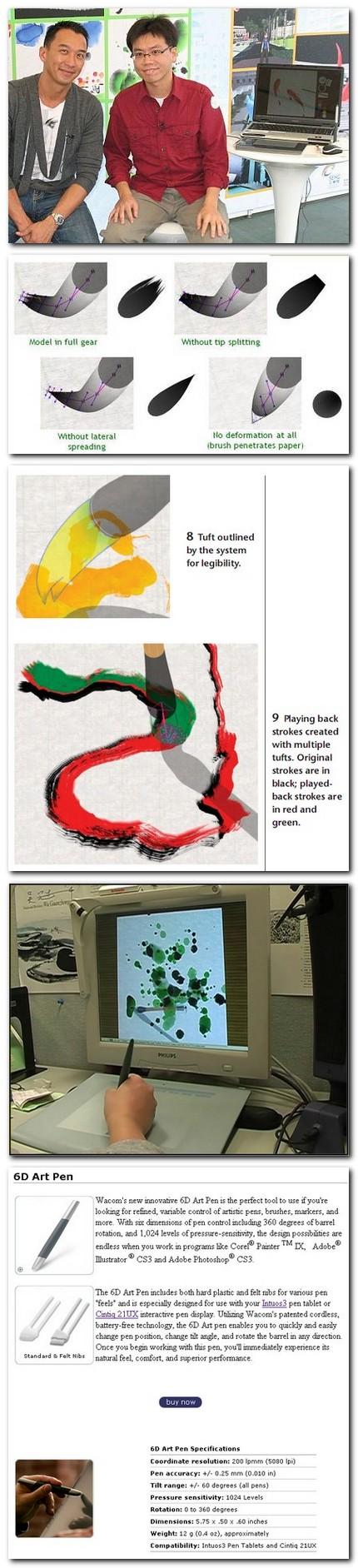 Nelson Chu şi câteva imagini despre sistemul său Moxi.
