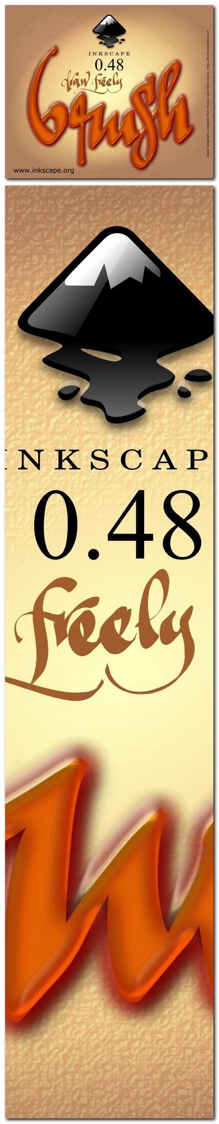 """02 ecran """"About Inkscape"""" trimis la concurs - florinf"""