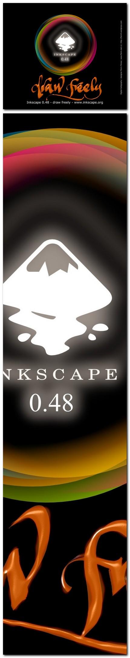 "03 ecran ""About Inkscape"" varianta netrimisa - florinf"