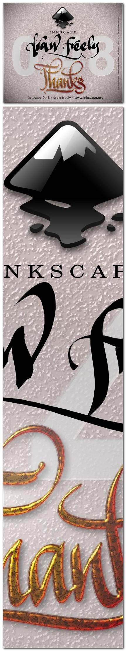 "07 ecran ""About Inkscape"" varianta netrimisa - florinf"