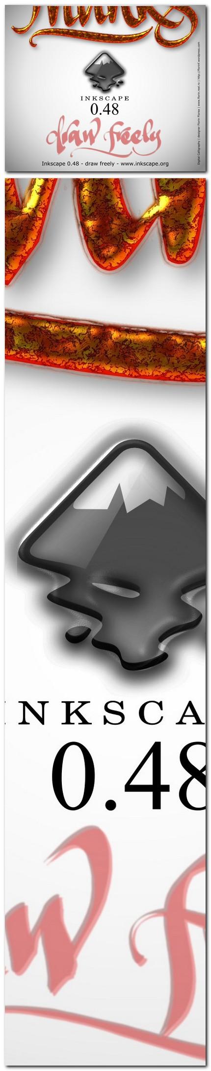 "08 ecran ""About Inkscape"" varianta netrimisa - florinf"