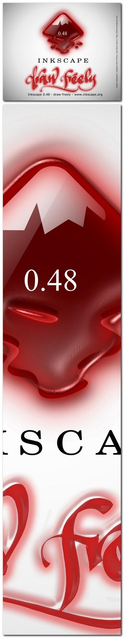 "09 ecran ""About Inkscape"" varianta netrimisa - florinf"