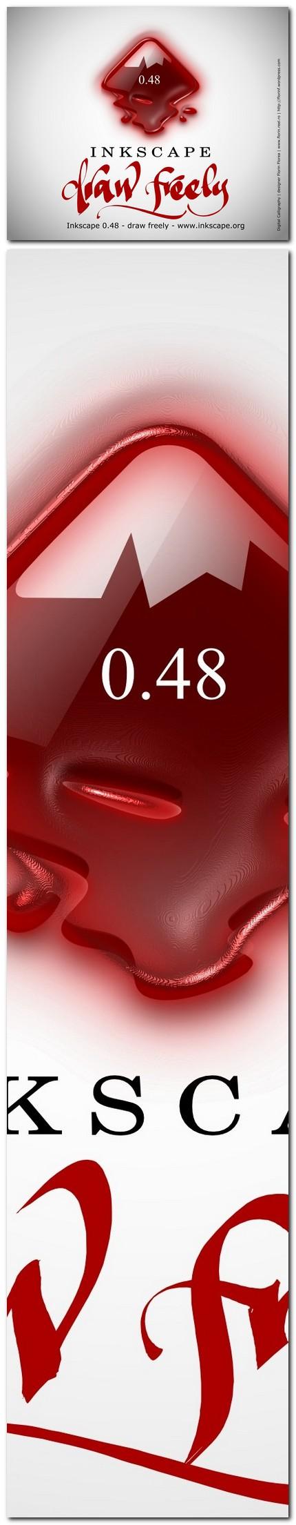 "10 ecran ""About Inkscape"" varianta netrimisa - florinf"