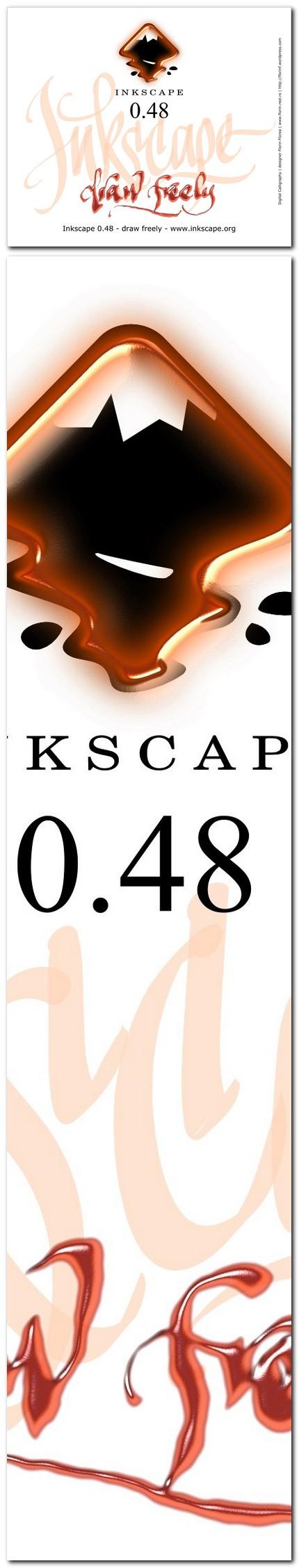 "11 ecran ""About Inkscape"" varianta netrimisa - florinf"