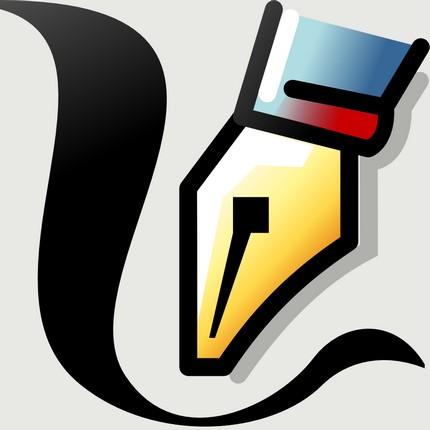 iconiţa uneltei caligrafice în Inkscape