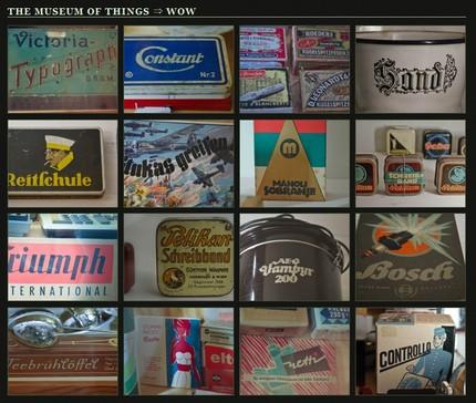 Museum der dinge - din pagina blogului You Should Like Type Too