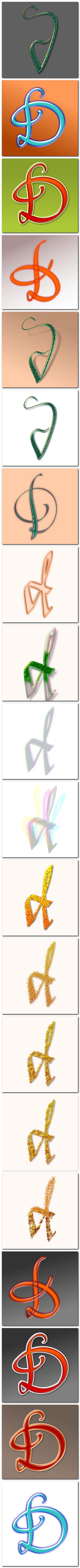 Litera d pentru lettercult - AlphaBattle 2 - de florinf