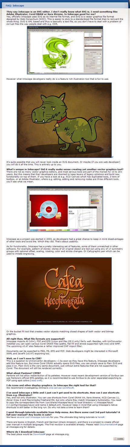 Despre Inkscape ilustrat cu lucrarea lui Florin Florea pe Libre Graphics World