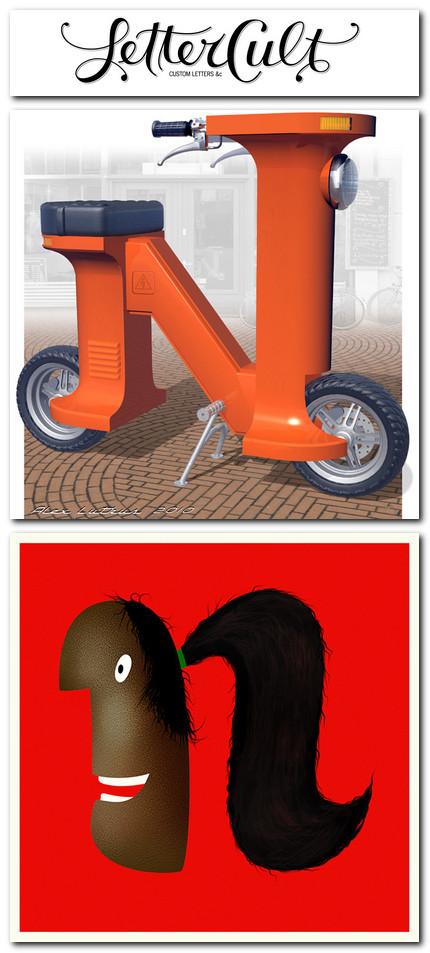 Lettercult AlphaBattle - litera N (restul în postare)