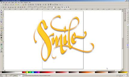 smile inkscape de florinf