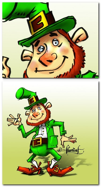 Leprechaun by florinf