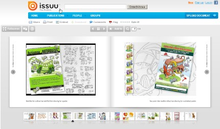 issuu florinf illustration
